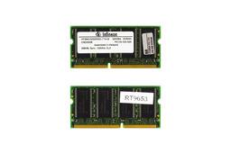 Infineon 256MB SDRAM 133Mhz használt laptop memória