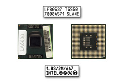 Intel Core 2 Duo T5550 1830MHz használt laptop CPU (SLA4E)