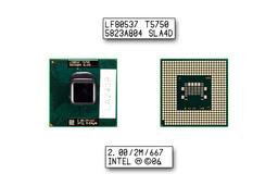 Intel Core 2 Duo T5750 2000MHz használt laptop CPU (SLA4D)