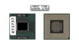 Intel Core 2 Duo T7600 2333MHz használt laptop CPU, SL9SD