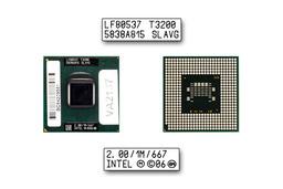 Intel Dual Core T3200 2000MHz használt laptop CPU (SLAVG)
