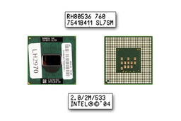 Intel Pentium M 760 2000MHz használt laptop CPU (SL7SM)
