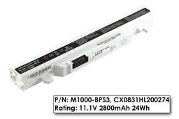 J&W Minix M1100 használt 85%-os 3 cellás fehér laptop akku/akkumulátor (M1000-BPS3)
