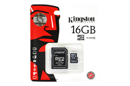 Kingston 16GB Class 4 MicroSD kártya + adapter (SDC4/16GB)