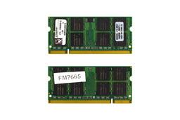 Kingston 1GB DDR2 667MHz használt memória HP-Compaq laptopokhoz