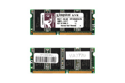 Kingston 256MB SDRAM 133MHz használt laptop memória