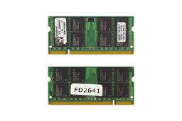 Kingston 2GB DDR2 667MHz használt memória HP laptopokhoz