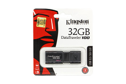 Kingston 32GB fekete pendrive (DT100G3/32GB)