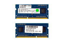 Kingston 4GB DDR3L 1600MHz használt laptop memóra HP laptopokhoz