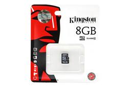 Kingston 8GB Class 4 MicroSD kártya (SDC4/8GBSP)