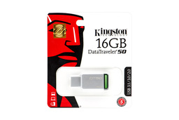 Kingston DataTraveler 50 16GB USB 3.1 ezüst-zöld pendrive (DT50/16GB)