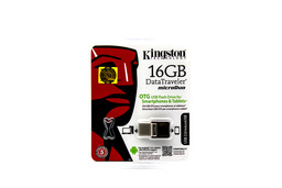 Kingston DataTraveler microDuo 16GB USB 2.0 / microUSB OTG pendrive (DTDUO/16GB)