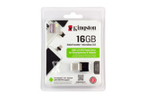 Kingston DataTraveler microDuo 3.0 16GB fekete OTG pendrive (USB3.0 / microUSB) (DTIG4/16GB)