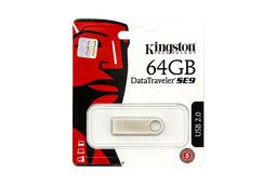 Kingston DataTraveler SE9 DTSE9 64GB USB 2.0 ezüst pendrive (DTSE9H/64GB)
