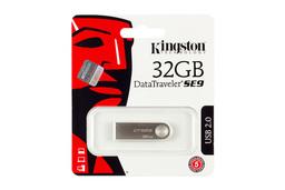 Kingston DataTraveler SE9 (USB 2.0) 32GB ezüst pendrive (DTSE9H/32GB)