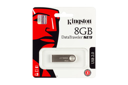 Kingston DataTraveler SE9 DTSE9 8GB USB 2.0 ezüst pendrive (DTSE9H/8GB)