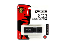 Kingston DT100 8GB fekete pendrive (DT100G3/8GB)