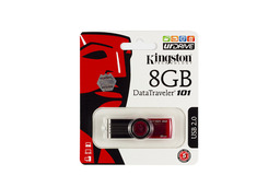 Kingston DT101 8GB piros pendrive (DT101G2/8GB)