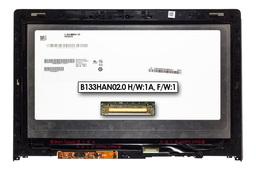 Lenovo Yoga 2 13'' ultrabookhoz gyári új fényes 13.0'' FHD (1980x1080) eDP IPS laptop Slim kijelző modul kerettel (B133HAN02.0 H/W:1A, F/W:1)