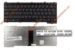 Lenovo 3000 C100, C200, N100, N200, N500 használt magyar laptop billentyűzet (FRU 42T3359)