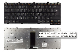 Lenovo 3000 C100, C200, N100, N200, N500 gyári új magyar laptop billentyűzet (FRU 42T3359)
