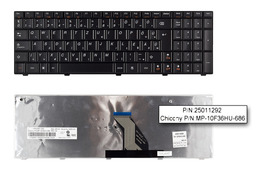 Lenovo IdeaPad G560 fekete magyar laptop billentyűzet