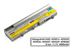 Lenovo 3000 N200 14 inch WIDE helyettesítő új 6 cellás laptop akku/akkumulátor (42T5237)