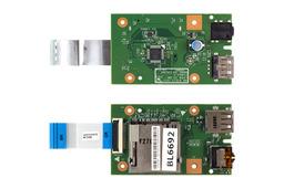 Lenovo B580, B590 használt Audio USB Kártyaolvasó panel kábellel  48.4TE11.011