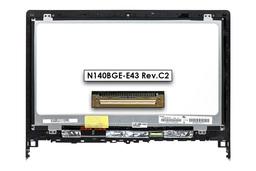 Lenovo Flex 2-14, 2-14D gyári új fényes 14.0'' WXGA HD (1366x768) eDP laptop Slim kijelző modul kerettel