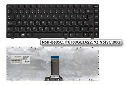 Lenovo IdeaPad B470, G470, V470 gyári új magyar laptop billentyűzet (25-011641)