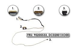 Lenovo Ideapad B50-30, B50-45, B50-70 laptophoz használt LCD kábel (90205533)