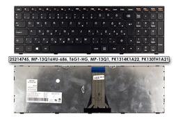 Lenovo IdeaPad B50-70, G50-70, Z50-70 gyári új magyar fekete laptop billentyűzet (25214745)