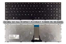 Lenovo IdeaPad B50-70, G50-70, Z50-70 gyári új norvég fekete laptop billentyűzet (25214806)