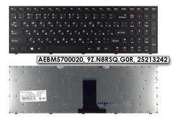 Lenovo IdeaPad B5400, M5400 gyári új RU orosz fekete billentyűzet (AEBM5700020)