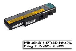 Lenovo IdeaPad B560, V560, Y460, Y560 használt 80%-os 6 cellás laptop akku/akkumulátor (57Y6440, L09L6D16)