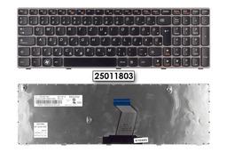 Lenovo Ideapad B570, V570, Z570 gyári új magyar szürke keretes laptop billentyűzet, 25011803