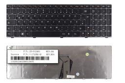 Lenovo Ideapad B570, V570, Z570 gyári új német laptop billentyűzet, 25-012461