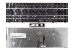 Lenovo Ideapad B570, V570, Z570 gyári új pink keretes német laptop billentyűzet, 25-011883