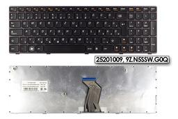 Lenovo Ideapad B570, V570, Z570, Y570 gyári új magyar lila keretes laptop billentyűzet, 25201009