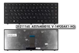 Lenovo IdeaPad Z410 fekete magyar laptop billentyűzet