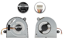 Lenovo IdeaPad G400s, G500s gyári új laptop hűtő ventilátor (MF60120V1-C460-S9A)