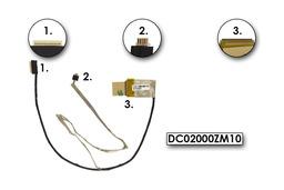 Lenovo IdeaPad G460, Z460 gyári új laptop kijelző LCD kábel (DC02000ZM10)