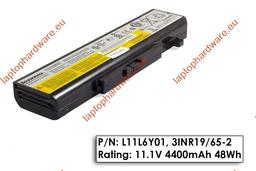 Lenovo IdeaPad G580, G585 gyári új 6 cellás laptop akku/akkumulátor  L11S6Y01, L11M6Y01