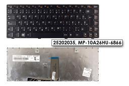 Lenovo IdeaPad G480, Z480 gyári új magyar laptop billentyűzet (25202035)