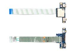 Lenovo IdeaPad G50-30, G50-70, Z50-75 laptophoz használt USB/audio/kártyaolvasó panel kábellel (90005943)