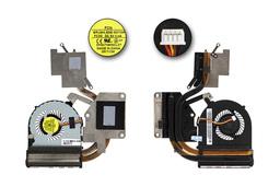 Lenovo IdeaPad G500, G505 gyári új komplett laptop hűtés (Discrete) (DFS470805CL0T, FRU: 90202703)