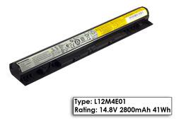 Lenovo G széria G50-45 laptop akkumulátor, gyári új, 3 cellás (2800mAh)