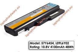 Lenovo IdeaPad G560, G570, Z560 használt, 6 cellás 90%-os laptop akku/akkumulátor (L09L6Y02)