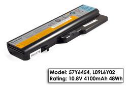Lenovo IdeaPad G560, G570, Z560 használt, 6 cellás 100%-os laptop akku/akkumulátor (L09L6Y02)