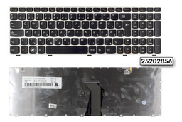 Lenovo IdeaPad Z580 fehér-fekete magyar laptop billentyűzet